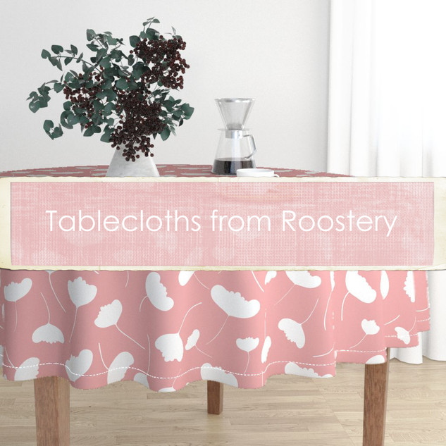 Tablecloths from Roostery