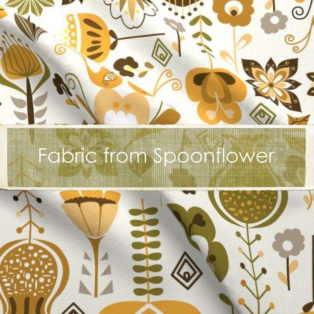 Fabric from Spoonflower
