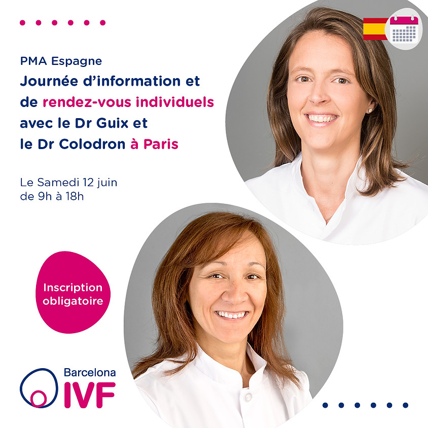 PARIS Barcelona IVF Samedi 12 Juin 2021