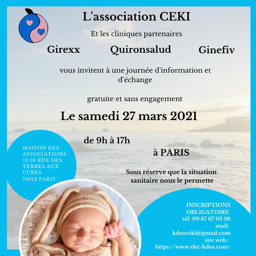 Réunion d'informations sur le désir d'enfants Girexx, Ginefiv, Quironsalud