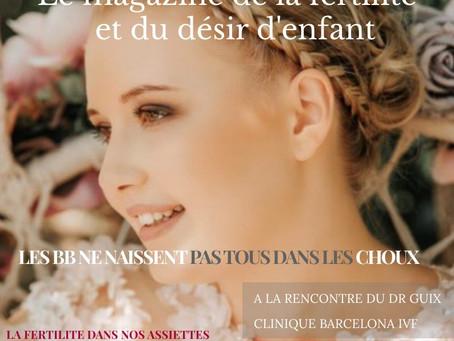 Naissance de Fertilemag, 1er magazine digital dédié au désir d'enfant