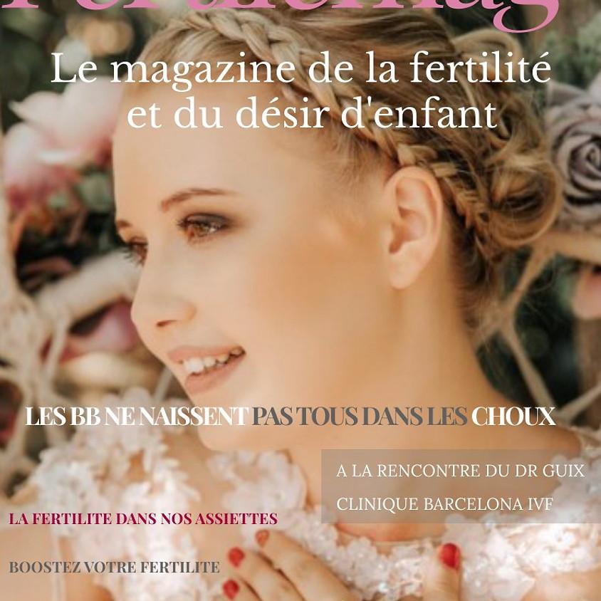 Fertilemag: 1er magazine digital dédié à la fertilité et au désir d'enfant