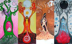 Sihuatl. Sobre lo femenino la sangre, la luna y la tierra.