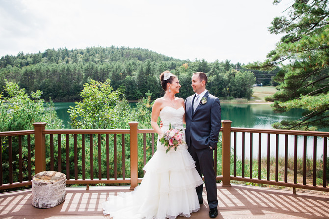 Justine & Ryan | Echo Lodge | New York Wedding Photographer