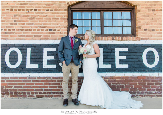 Amanda & Michael | Cotton Mill Monroe, Ga | Atlanta Wedding Photographer