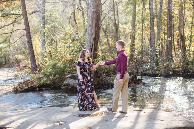 Becca & Jordan | Tribble Mill Park | Gwinnett Engagement Photographer