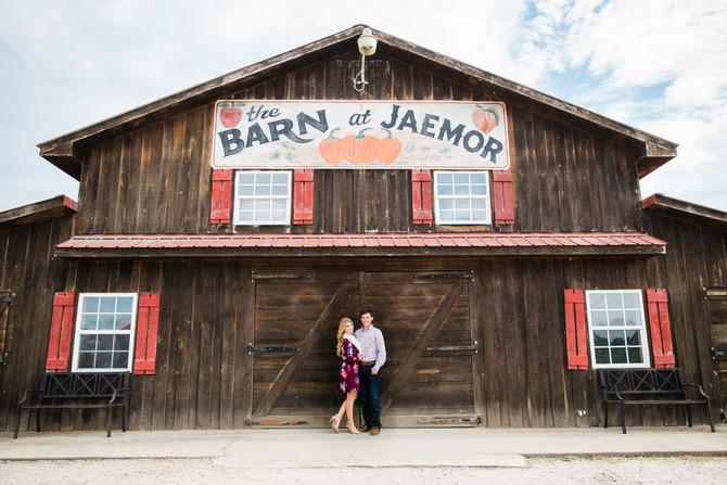 Michael & Christine Engaged | Jaemor Farms