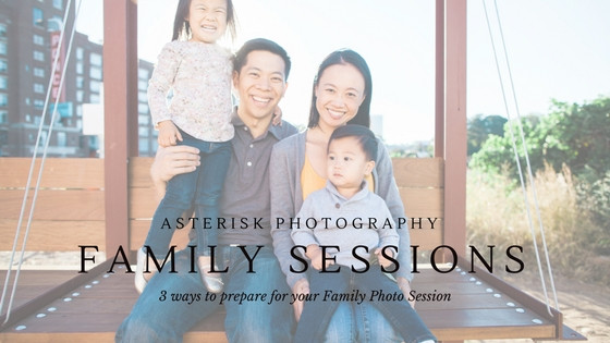 Asterisk Answers | 3 Ways To Prepare For Your Family Session