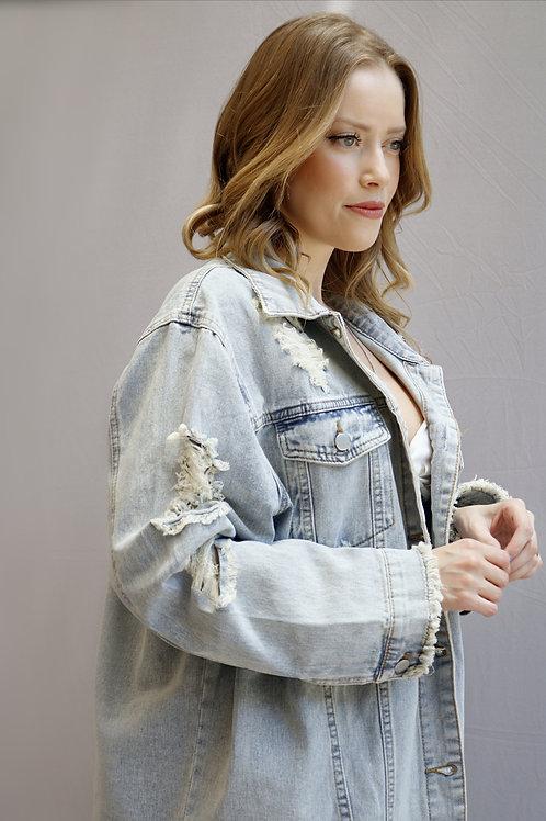 Jaqueta Jeans Vênus