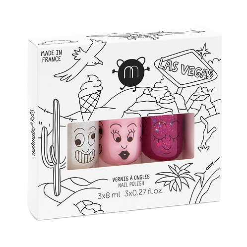 Nailmatic Nail Polish Gift Box (3 Pcs)
