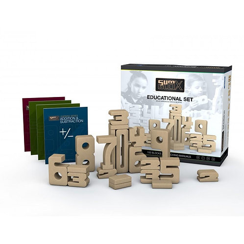 SumBlox Building Blocks Educational Set 100 Pieces