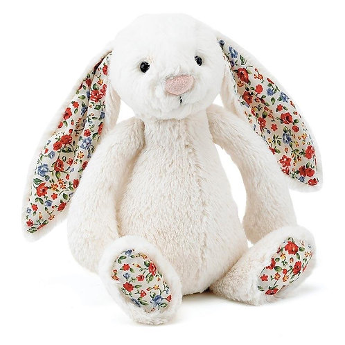 Jellycat Blossom Bashful Cream Bunny - Small