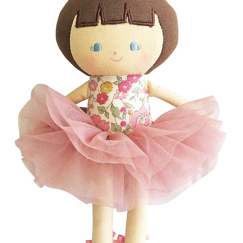 Baby Ballerina Doll 25CM Rose Gaden