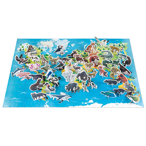 JANOD - ENDANGERED ANIMALS PUZZLE
