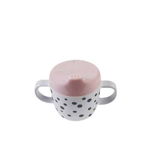 Done by Deer Happy Dots 2-Handle Spout Cup
