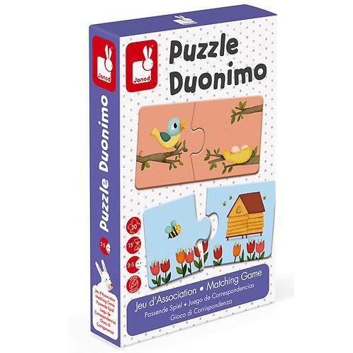 JANOD - DUONIMO PUZZLE 20 PCS