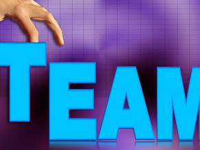 THERE'S NO 'I' IN TEAM (Oh yes there is!)
