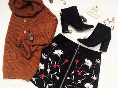 Styling the Knit, cozy sweater
