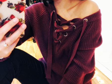 1 sweater, 3 ways to wear it!