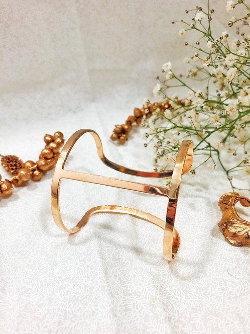 T-Shaped Cuff Bracelet