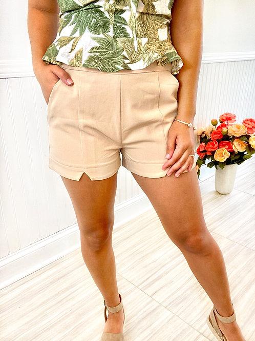 Light, Tan Shorts