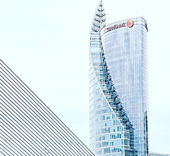 RIGA - Un des projets d'architecture réalisé pour la modernisation de la capitale LETTONE. par cette réalisationprojet d'architecture.