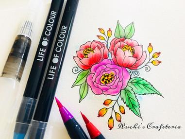 Doodled Florals