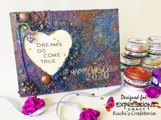 Happy New Year 2020! Wooden Photo Frame
