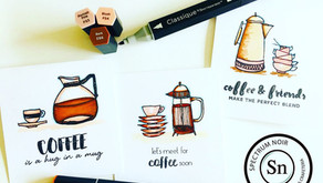 Video Tutorial: How To Create Note Cards & Easy Coloring Tips Using Spectrum Noir Markers