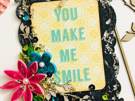A Photo Frame With Quilling