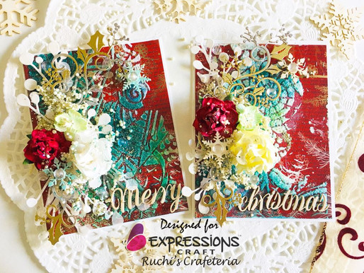 A Set Of Mixed Media Cards- Video Tutorial