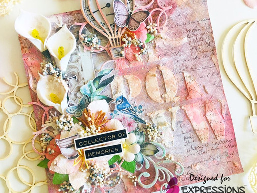 A Layout In Shabby Chic Colors!