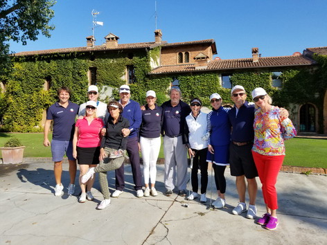 Italy Dream Golf first adventure