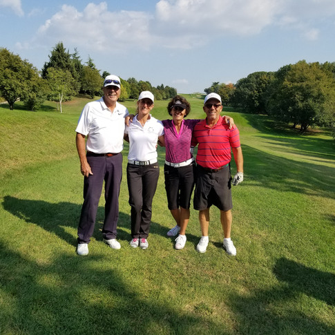 Golf and friends