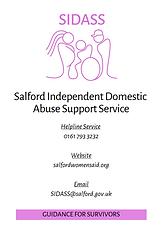 SIDASS - Guidance for survivors