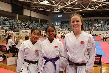 JKA Ipswich karate redbank collingwood park sports complex dojo