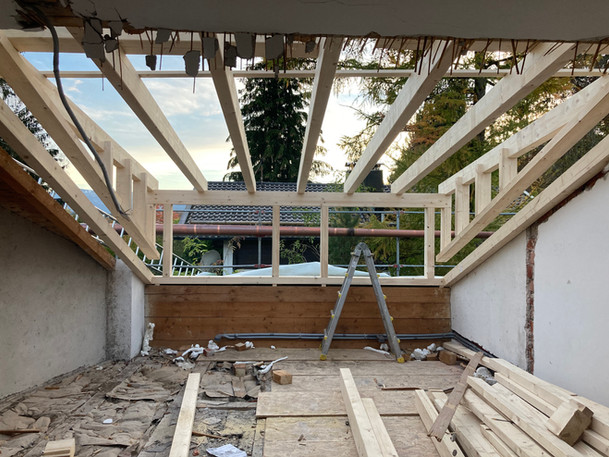 Einfamilienhaus Bad Tölz// energetische Dachsanierung/ Planung und Bauleitung/