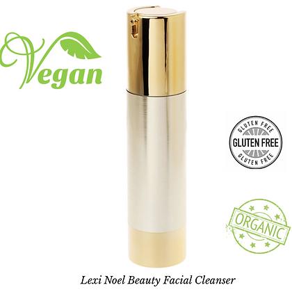 Organic Vegan Facial Cleanser  Lexi Noel Beauty