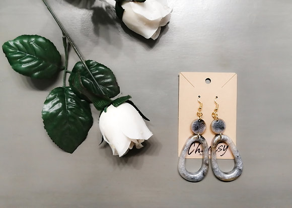 Chantsy Accessories - Silver and Gold Earrings