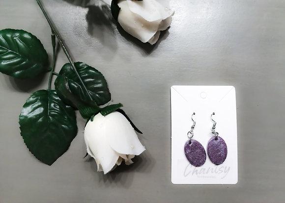 Chantsy Accessories - Purple Earrings