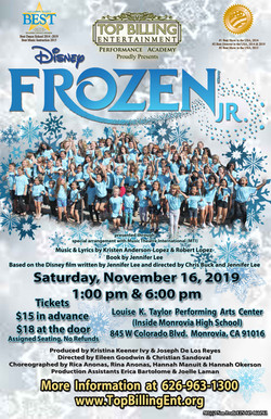 Frozen Jr. Nov. 2019