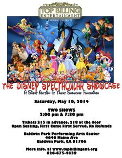 Disney Spectacular Showcase 2014
