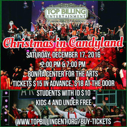 Christmas in Candyland Dec. 2016