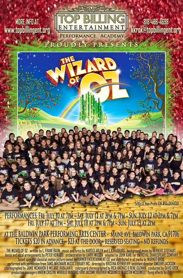 Wizard of OZ July 2015