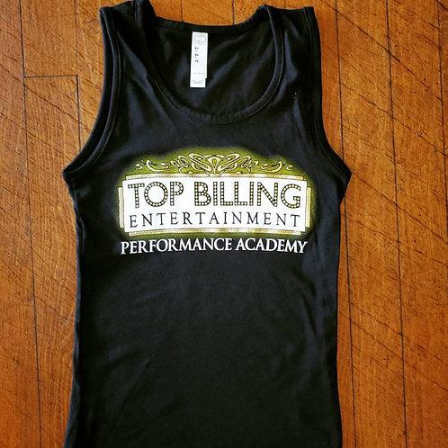 Child Black Logo Tank Top