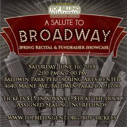 Salute to Broadway June 2018