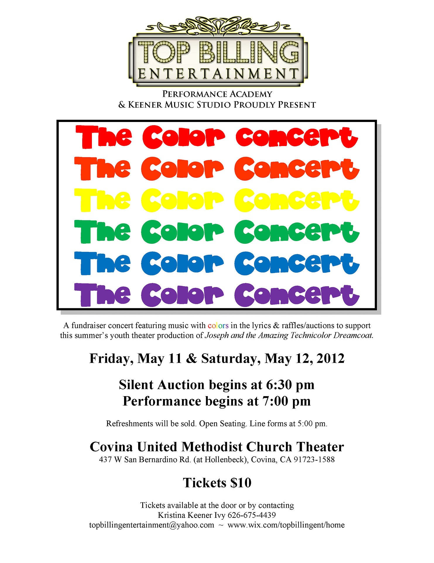 The Color Concert 2012