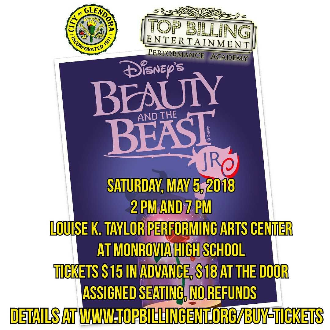 Beauty & the Beast Jr. May 2018