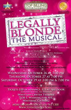Legally Blonde October 2016