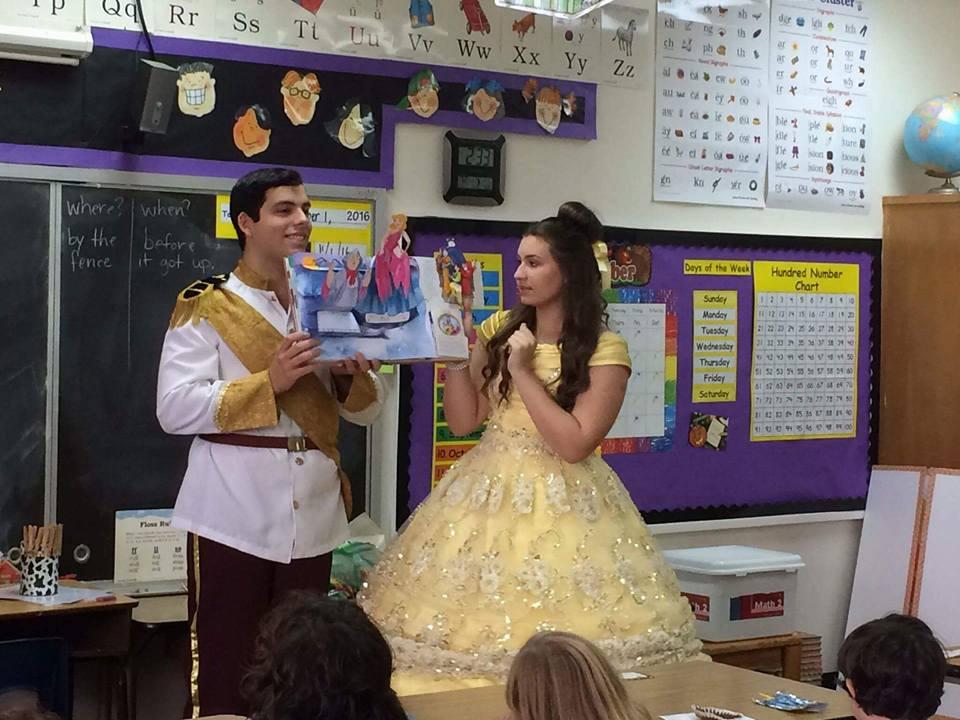 Yellow Princess & Prince